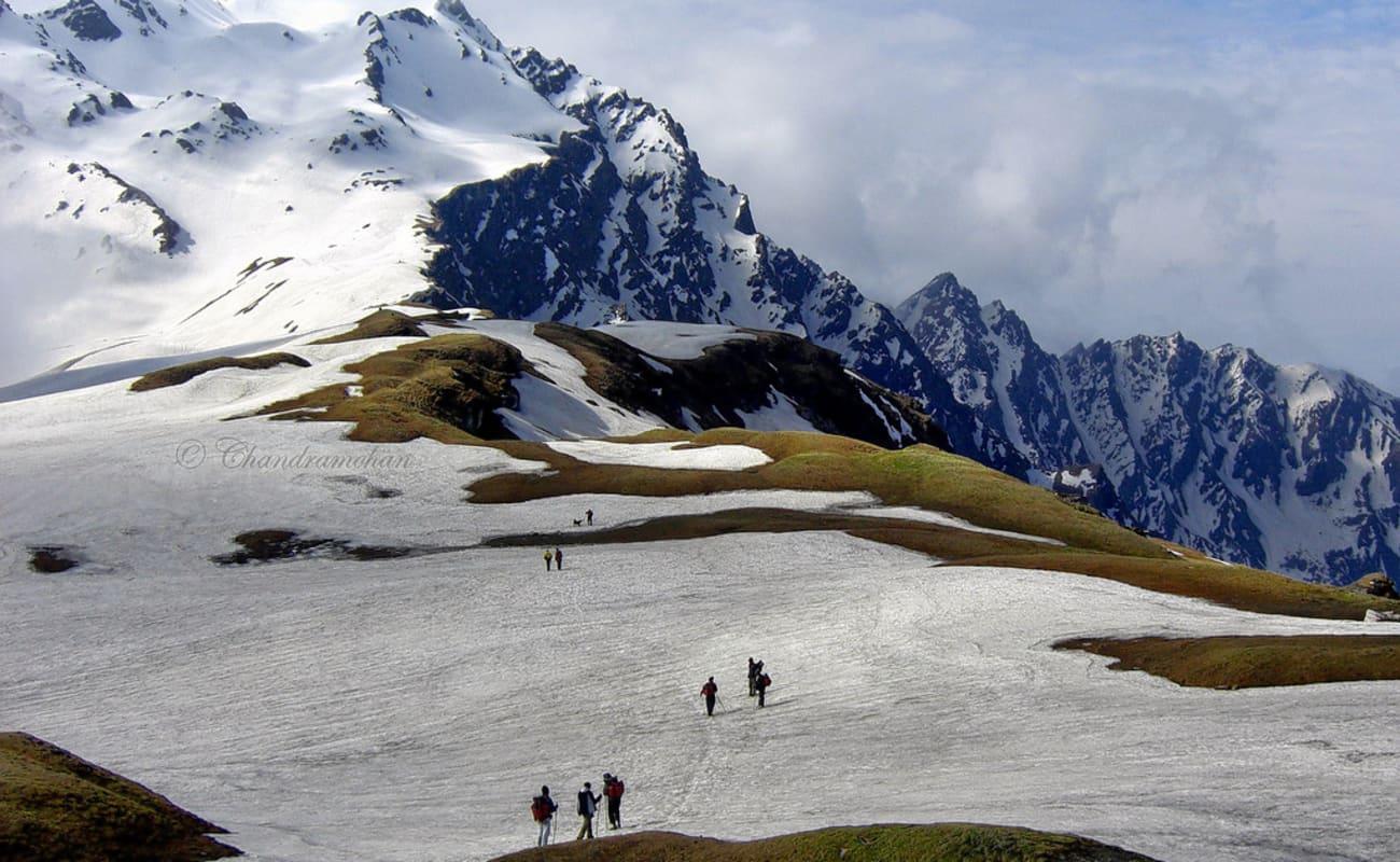 Indrahar Pass Trek - A Trek Above the Triund Snowline