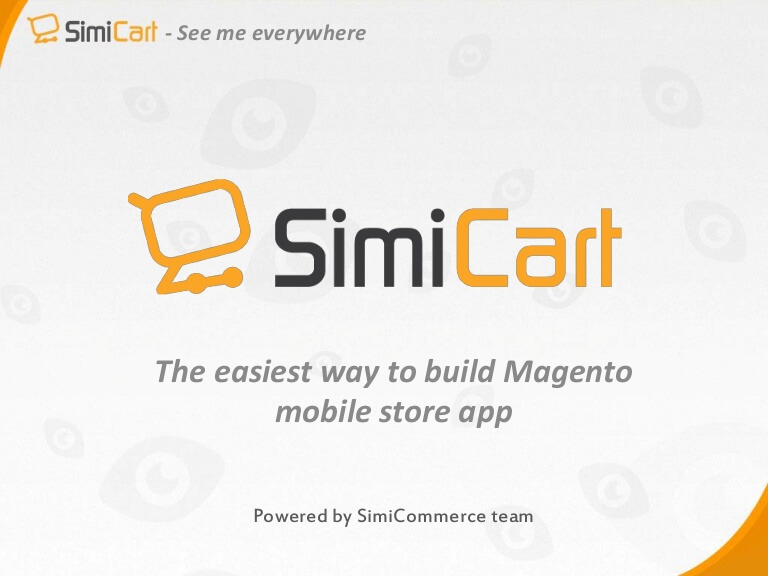 Magento mobile app extension