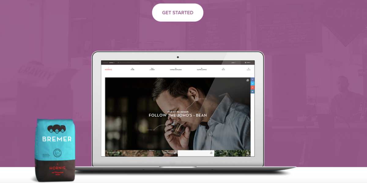 Sitio web de Woocommerce