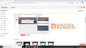 Digital Bandari,Blogger,Blog spot