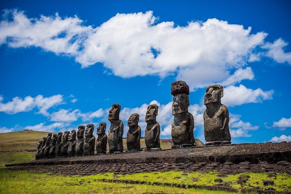 Moai, Isola Di Pasqua, Rapa Nui, Ancestrale, Antenati