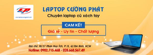 Địa chỉ bán bán laptop cũ uy tín TPHCM