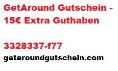 GetAround Gutschein