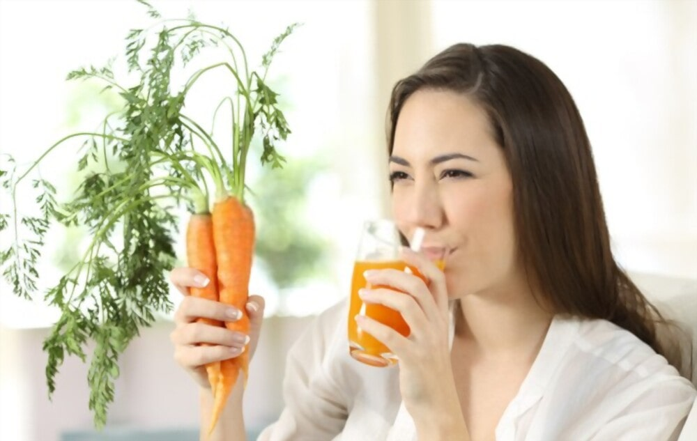 Carrot juice, manage blood sugar level in diabetes patients