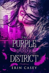 Bianca was supposed to attend art school in Chicago, not run for her life from Hunters. The only chance she has to survive is to find The Purple Door District, a safe haven for a parahuman like herself. When she stumbles upon a magus named Gladus and a fellow avian named Carlos, she thinks she's found safety. But the Hunters are relentless, as is the dark force driving them.   Vampire, werewolf, avian, magus  It's up to the parahumans of the Purple Door District of Chicago to put their differences aside to save Bianca and stop a dark threat from destroying their peaceful community.    www.erincasey.org/