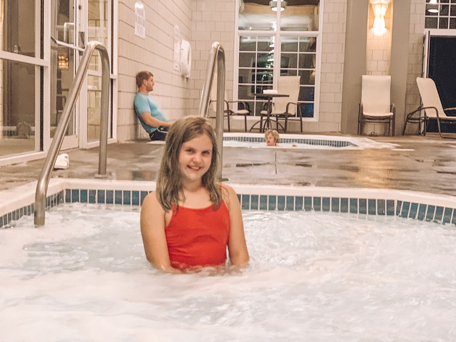 Stay at Arbor Day Farms' Lied Lodge | Lied Lodge | Arbor Day Foundation | Arbor Day Lodge | Nebraska City, Nebraska | Where to stay in Nebraska City | Apple picking Arbor Day Farms | family road trip | Midwest road trip | best places to see fall leaves | Lied Lodge Hot Tub