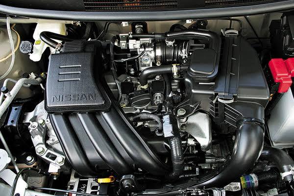 เครื่องยนต์รถยนต์ : Nissan March EL CVT