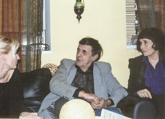 Юрій Вівташ та Раїса Лиша (справа)