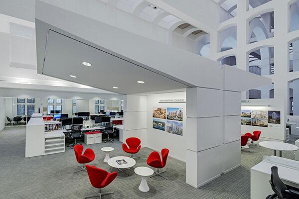 Văn phòng mở là xu hướng thiết kế văn phòng phổ biến