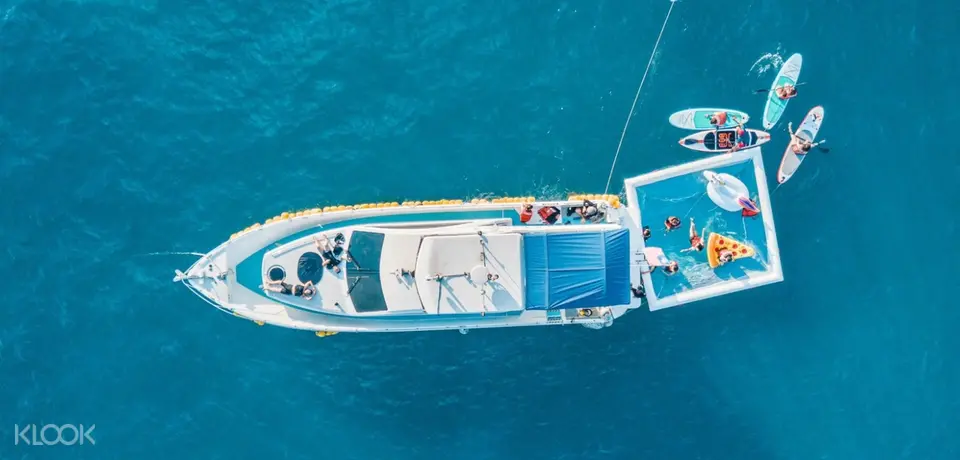 豪華遊艇龜山島牛奶海水上體驗