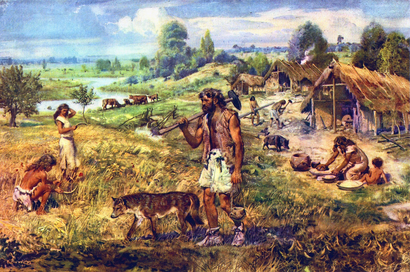 Image result for hunter gatherer