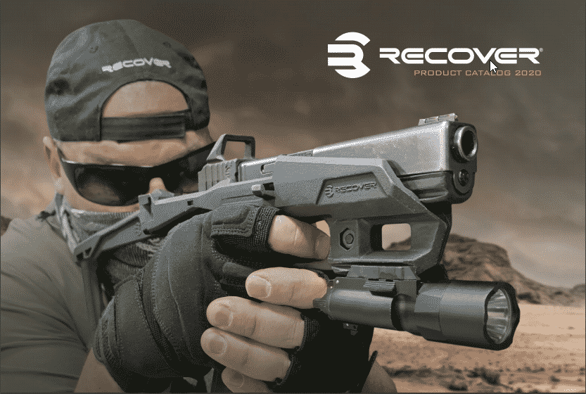 recover stabilizer brace for glock