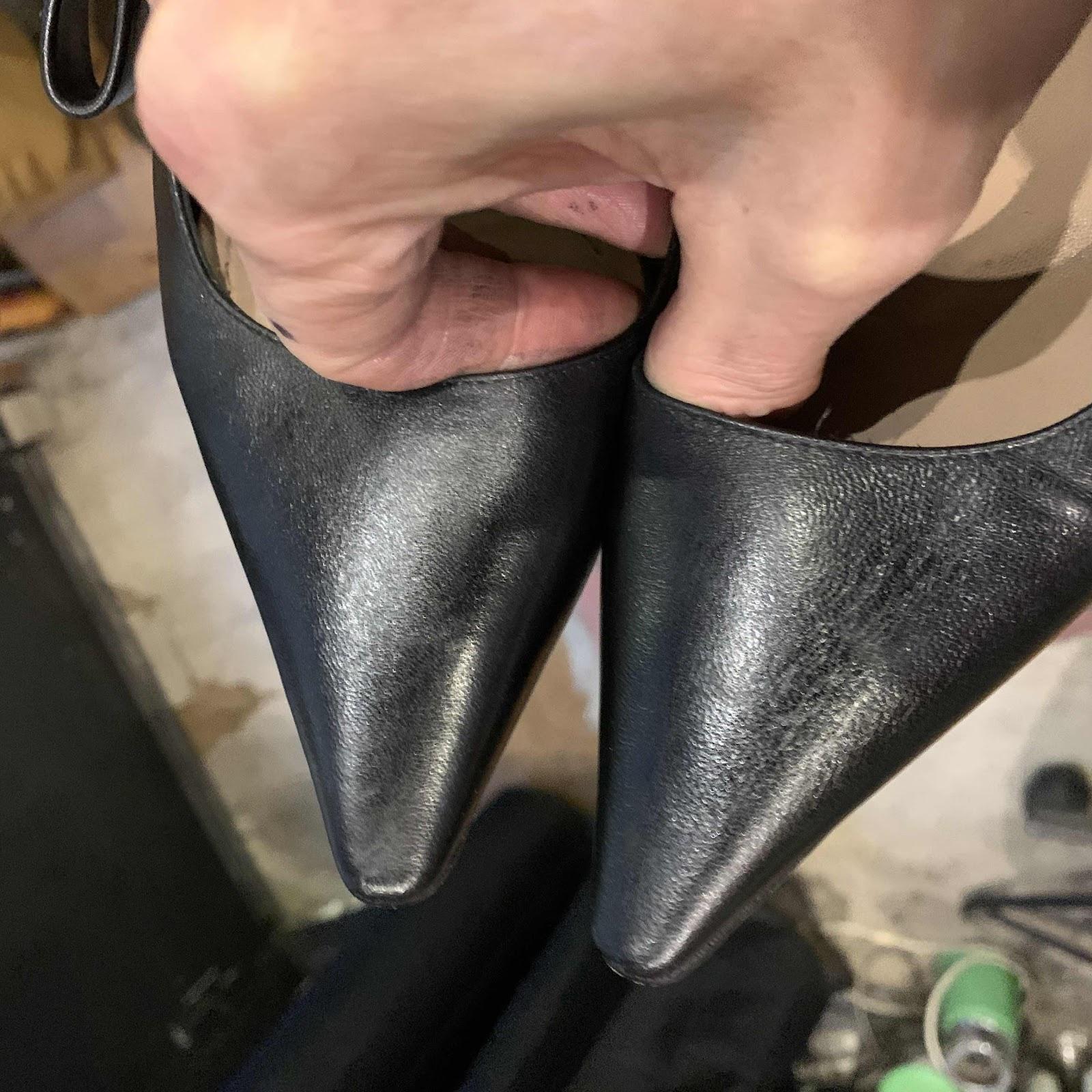 Christian Dior restauration réparation escarpins