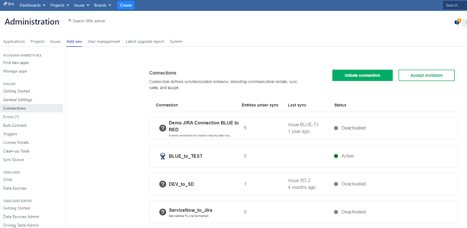 connect jira and servicenow