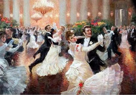 Viennese Waltz by Vladimir Pervuninsky