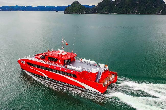 Có tour đi Cô Tô bằng tàu cao tốc cực dễ dàng, nhanh chóng