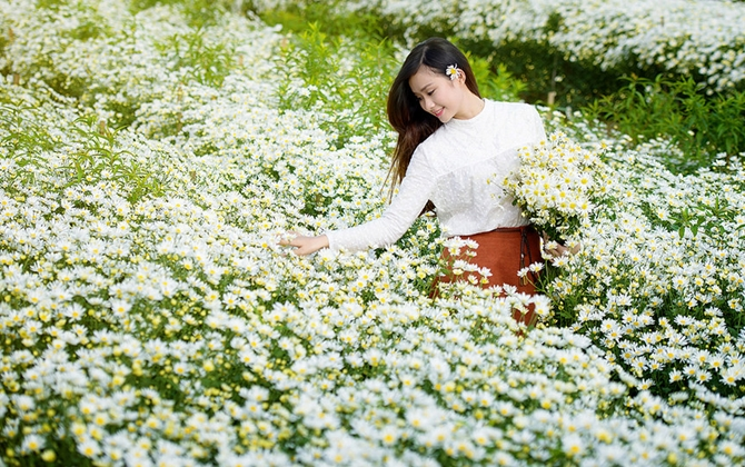 Vườn hoa Long Biên Hà Nội