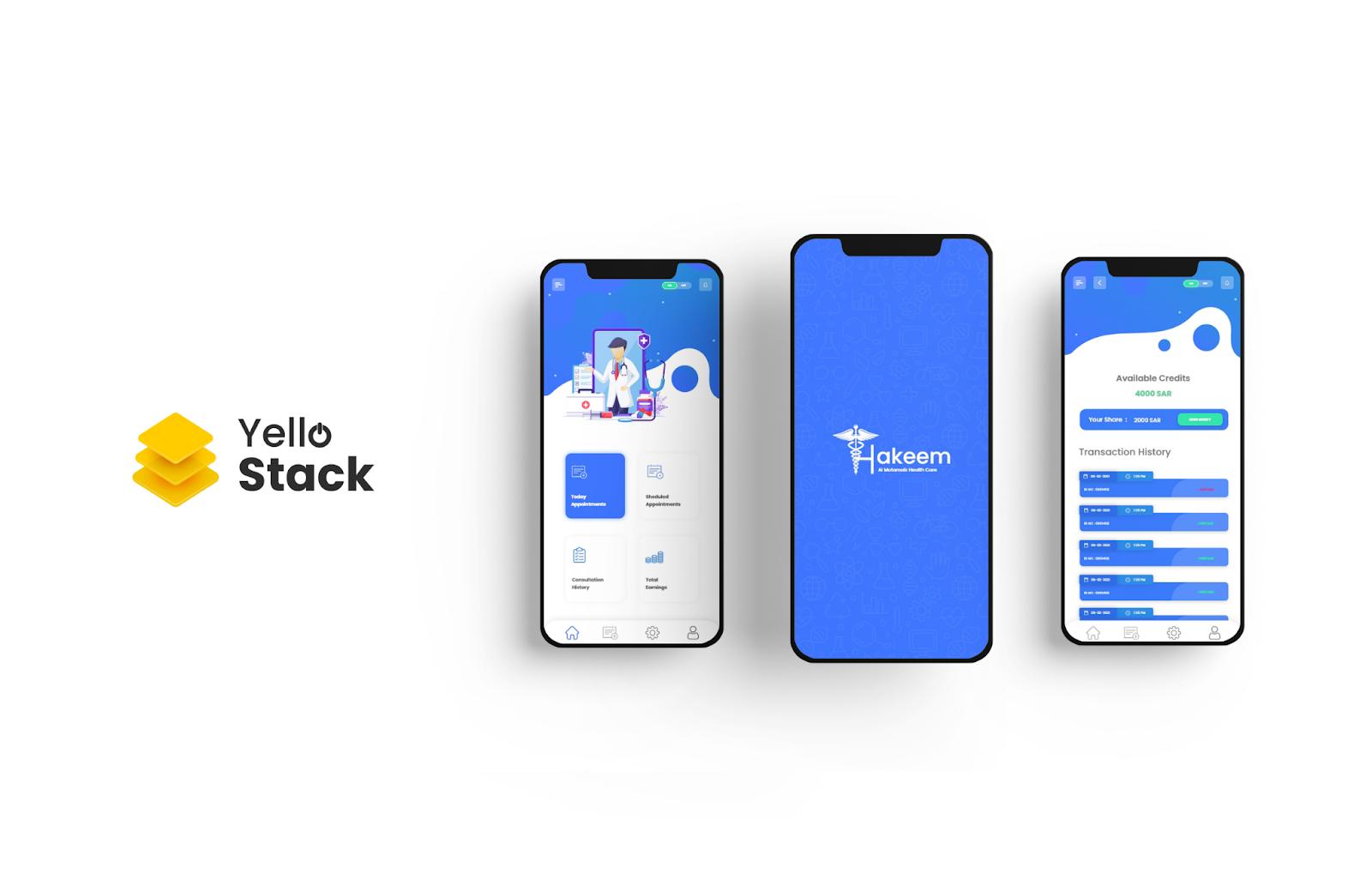 Hakeem - Online Doctor Consultation Booking App - YelloStack