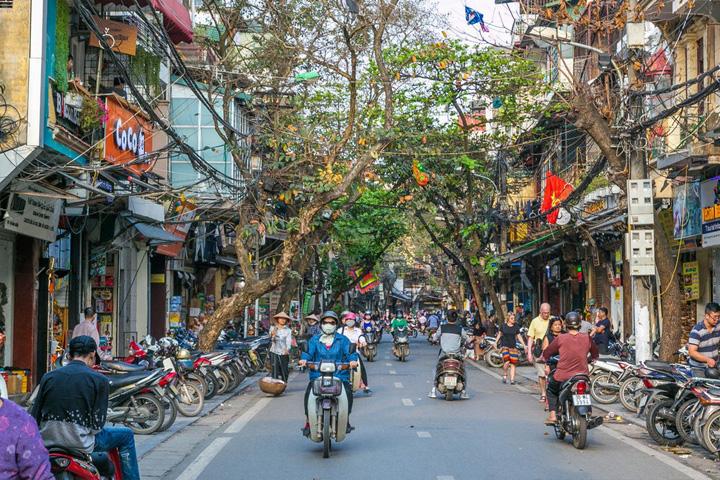 Cảnh quan tuyến phố là một phần của cảnh quan đô thị
