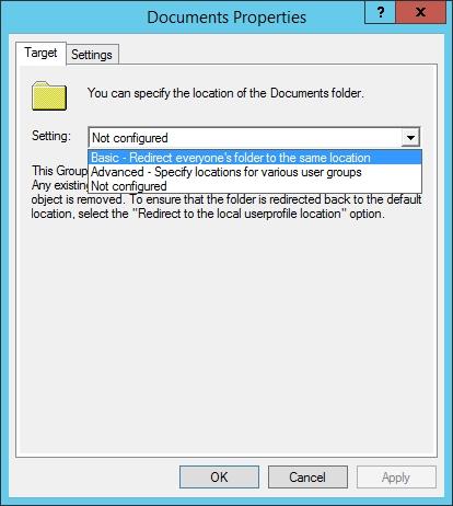 Quản trị tài nguyên mạng - Folder Redirection 3