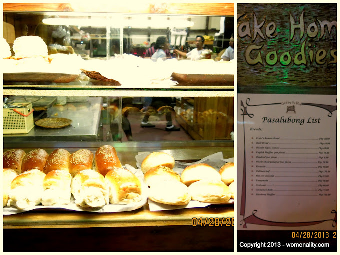 Take Home Goodies (Pasalubong) Cafe by the Ruins