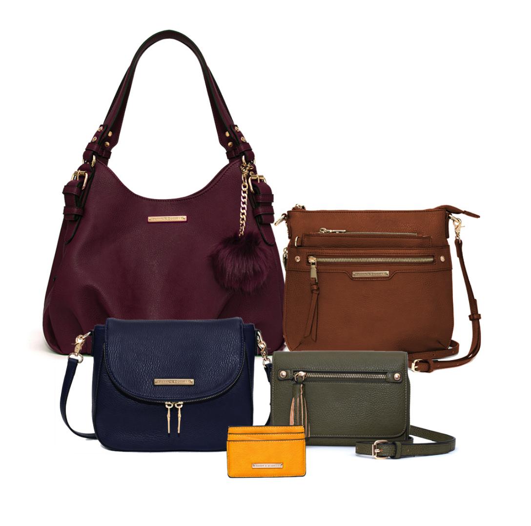 Stylish Handbags - Poppy & Peonies