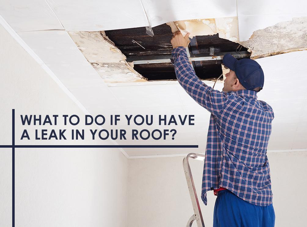 Leak in Your Roof