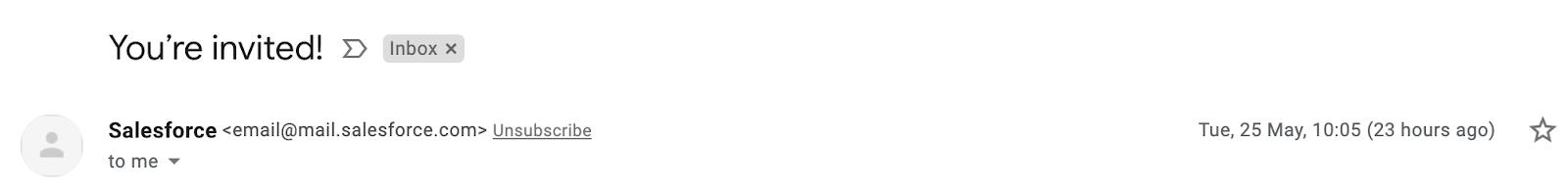 Email Blasts - Salesforce