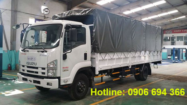 Bán xe tải isuzu 8 tấn thùng bạt đời 2016 trả góp không cần chứng minh thu nhập