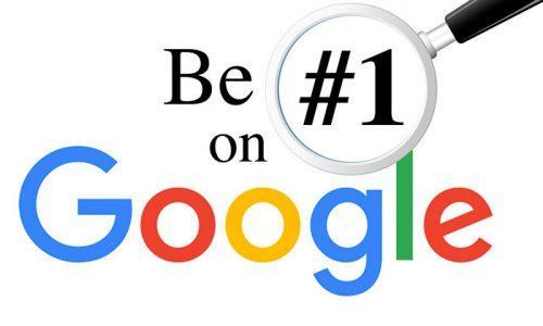 be #1 on google