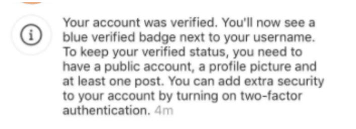 verifikasi notification