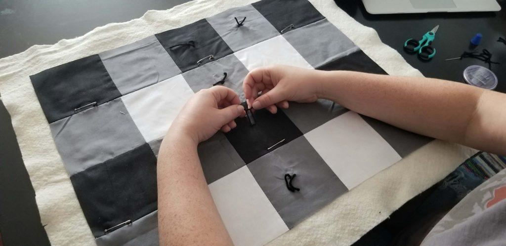 tie stitch