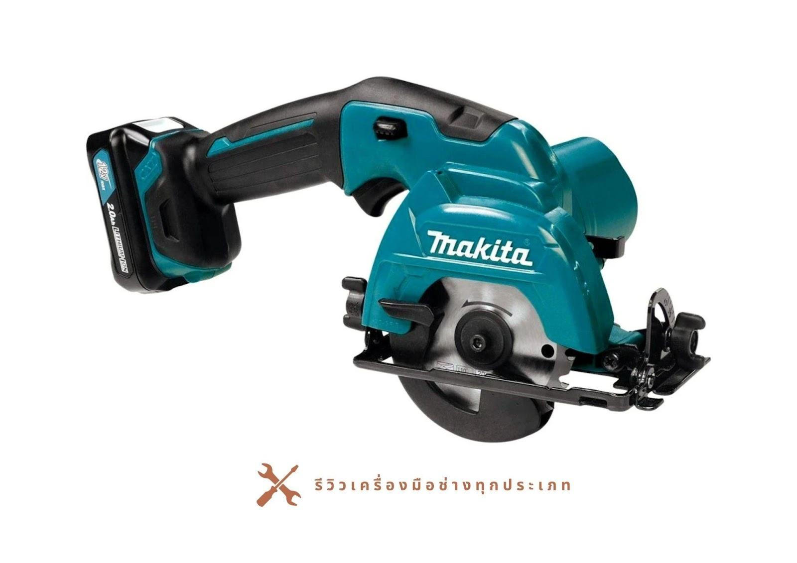 7. Makita SH02R1 12-Volt Max CXT Cordless Circular Saw Kit