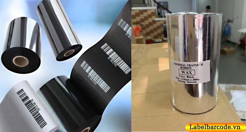 Bán mực in mã vạch wax chính hãng giá rẻ