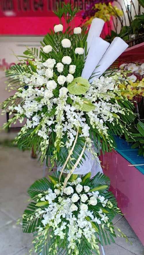 Địa chỉ shop vòng hoa viếng đám tang chất lượng nhất trên thị trường hiện nay