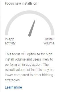 Objetivos a seleccionar cuando promocionamos una App en Google Ads