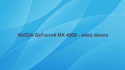 Inno3d gf4 4000x 128 drivers download.