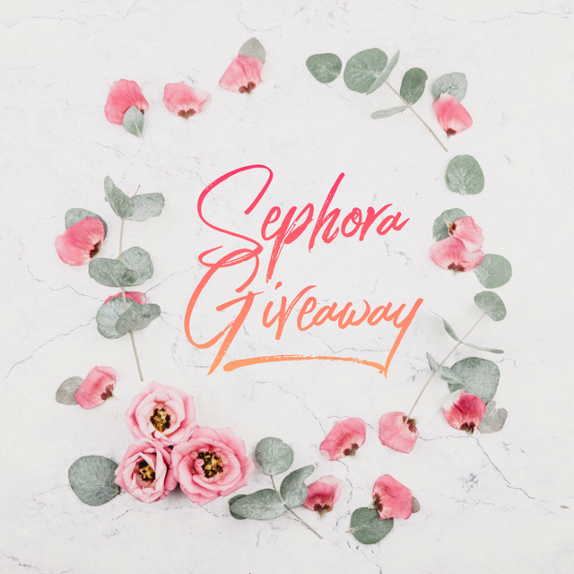 $150 Sephora Gift Card Giveaway