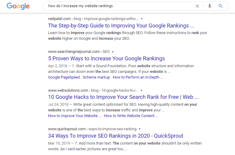 Semantic Search - digital marketing trends