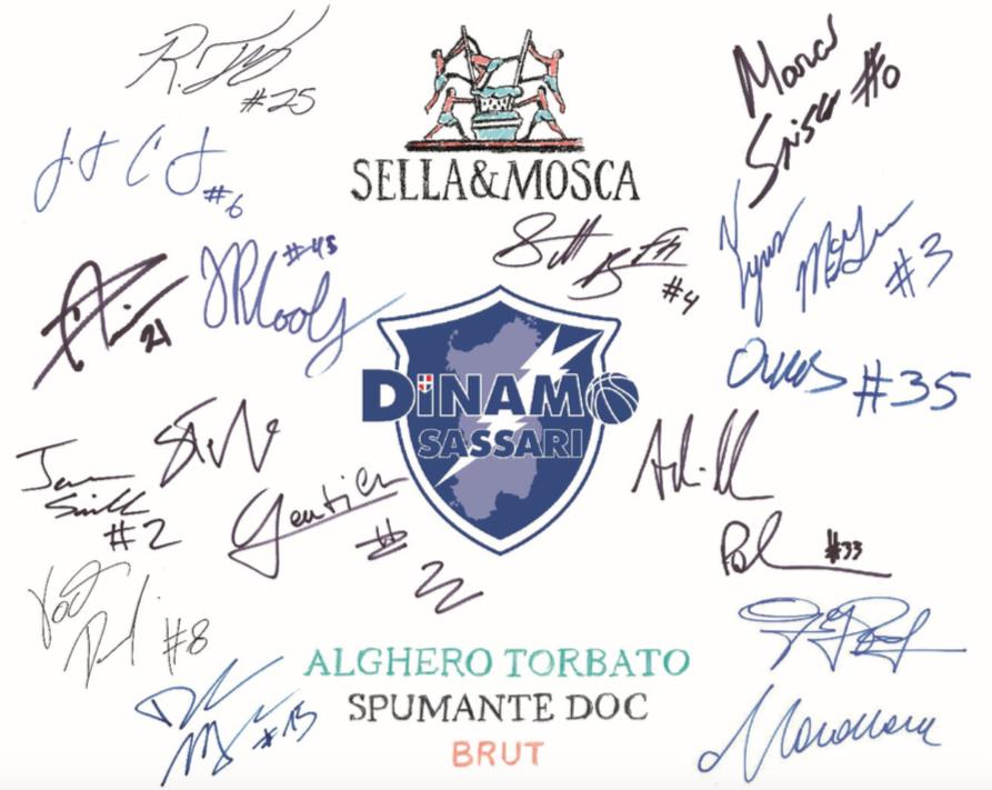 Sella & Mosca scende in campo con la Dinamo Sassari.