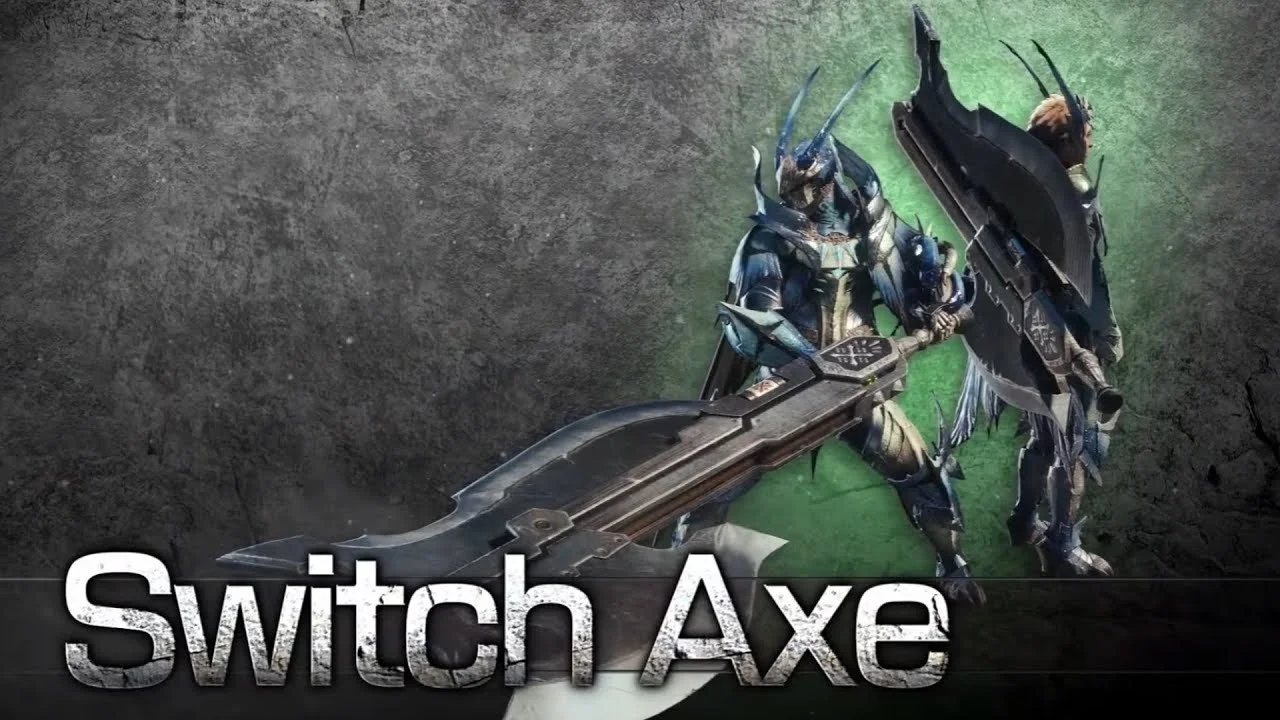 switch axe Monster Hunter World: Iceborne solo weapons