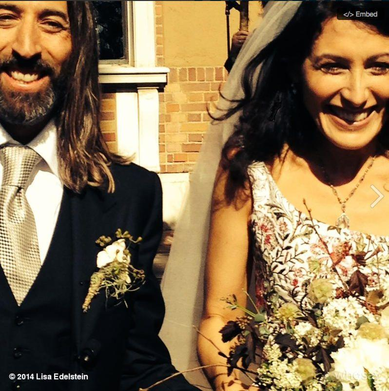 Image result for lisa edelstein wedding