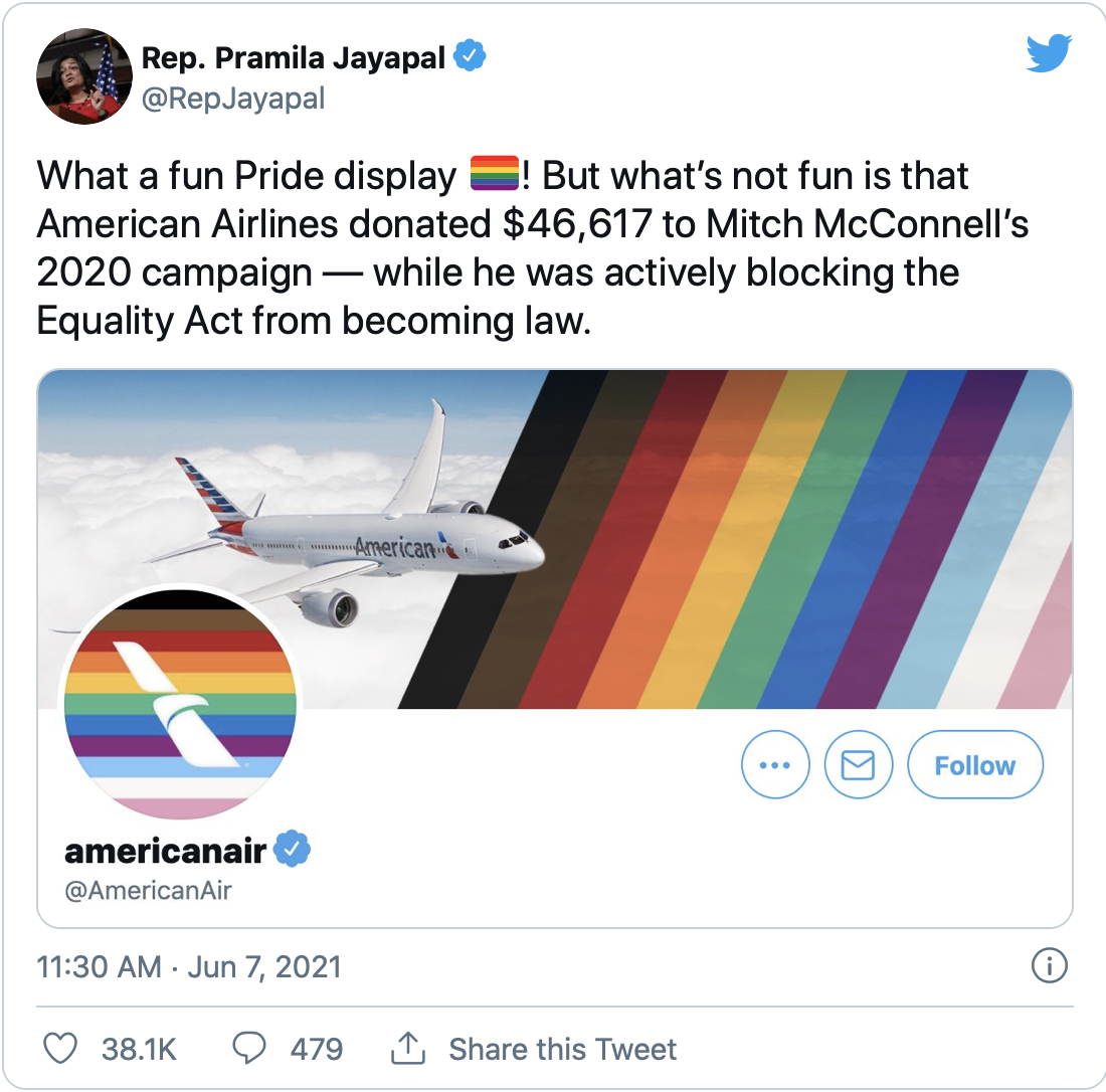 American Airlines Brand Fail of 2021