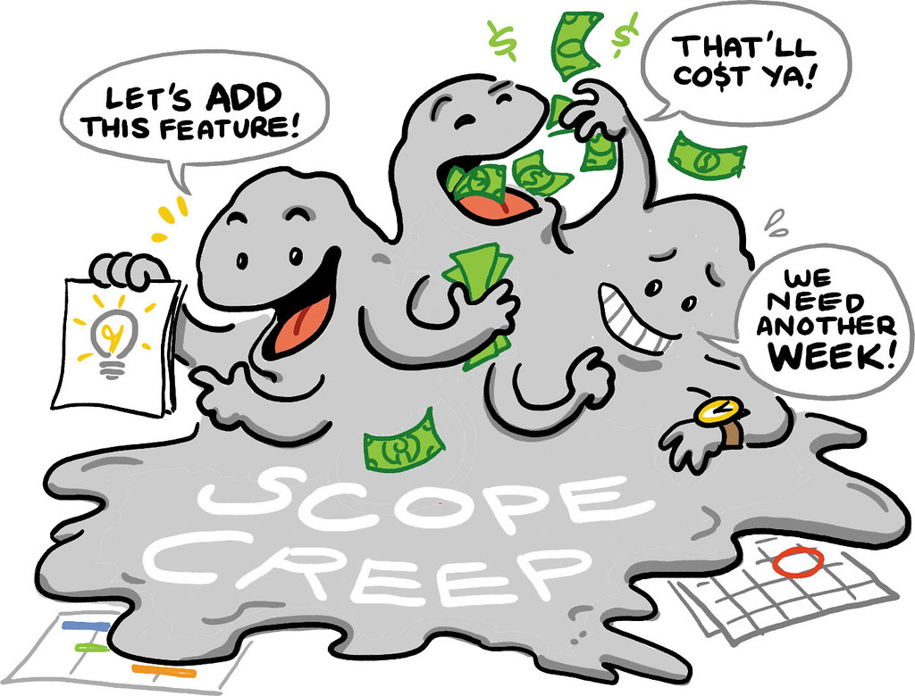 How to prevent scope creep when managing a project from home