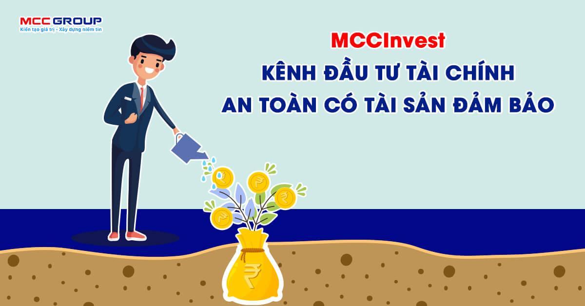 Chương trình tiết kiệm thông minh MCCInvest của MCC Group