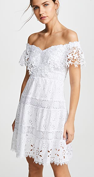 temptation postiano white dress - dress
