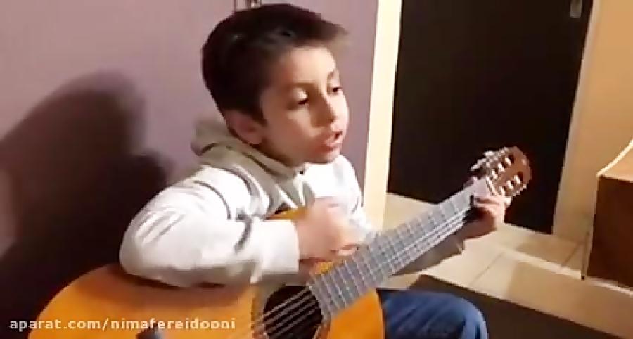 محمدرضا اناركى هنرجوى گیتار فرزین نیازخانی آهنگ عقل و عشق شادمهر عقیلی