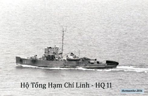 Image result for Hộ Tống Hạm Chí Linh HQ.11