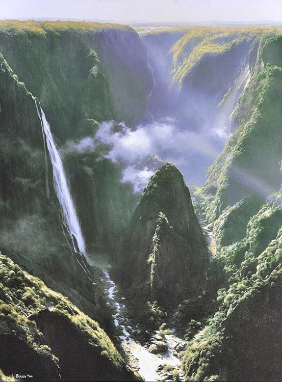 Wollomombi waterfalls - Waterfalls in New South Wales