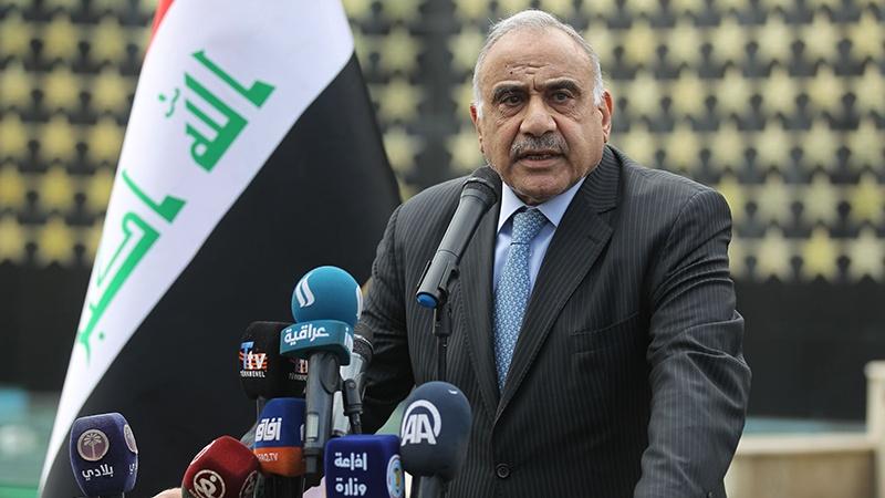 Акцент Адиля Абдула Махди на необходимости ухода американских террористических войск из Ирака